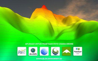 Ini Dia Aplikasi Untuk Pemetaan Foto Udara Drone